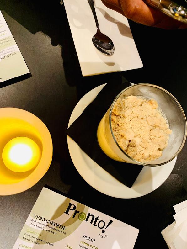Nagerecht Panna Cotta Pizze Pronto - Madhawie.nl